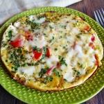 Omlet z mozzarellą i...