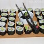 Roślinne sushi i
