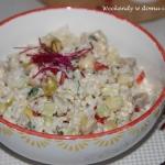 Ryżowa sałatka ze...