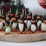 Pingwiny - przekąska...