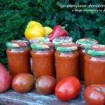 Sos pomidorowo-paprykowy...