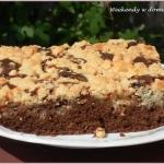 Szybkie kakaowe ciasto z...