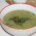 Zupa - krem ze szparagami...