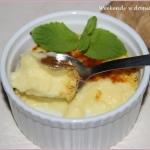 Imbirowy crème brûlée...