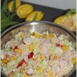 Salatka z kuskusem i