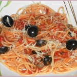 Spaghetti puttanesca i...