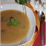 Zupa kalafiorowo-grzybowa