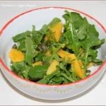 Rukola z mango