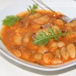 Gęsta zupa z fasoli