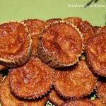 Muffiny z dynia, jablkiem...