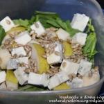 Salata z gruszka i serem ...
