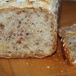 Chleb z kaszą gryczaną...