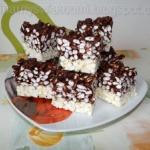 Ryzowy blok czekoladowy