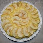 Ciasto z jablkami i serki...
