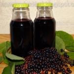 Syrop z owoców czarnego...