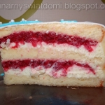 Biała Truskawka - Tort...