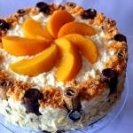 Tort brzoskwiniowy na...