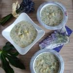Zupa z mlodymi ziemniakam...