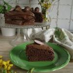 Ciasto czekoladowe (fit)