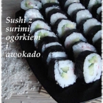 Sushi z surimi,...
