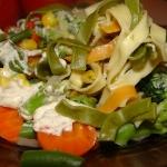 Makaron z warzywami na...