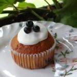 Pyszne muffinki jagodowe