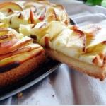 Tarta serowo-jabłkowa