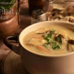 Zupa grzybowa z...