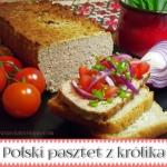 Polski pasztet z królika