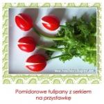 Pomidorowe tulipany z...