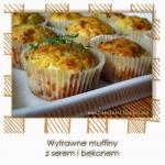 Wytrawne muffiny z serem...