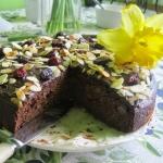 Gryczane ciasto czekolado...