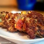 Placki mięsno-warzywne...