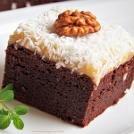 Brownie z marcepanem,...
