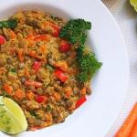 Warzywne curry z...