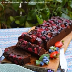 Brownie z owocami...