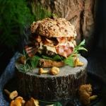 Jesienny burger z...