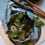 Chipsy z liści kalafiora