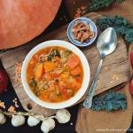 Rozgrzewająca zupa z...