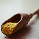 Pomarańczowy pyłek