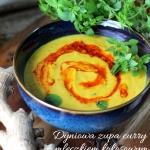 Dyniowa zupa curry z...