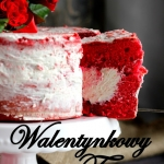 Walentynkowy tort -...