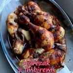 Nogi kurczaka pieczone z...