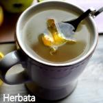 Herbata miodowo-cytrynowa...