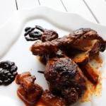 Kurczak w sosie barbecue...