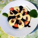 Gnocchi w sosie jagodowym