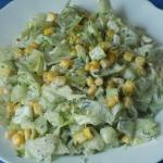 Salatka ogorkowo koperkow...