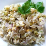Salatka z wedzonym morszc...