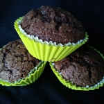 Muffinki czekoladowe z ch...