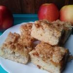 Ciasto z jablkiem i kokos...